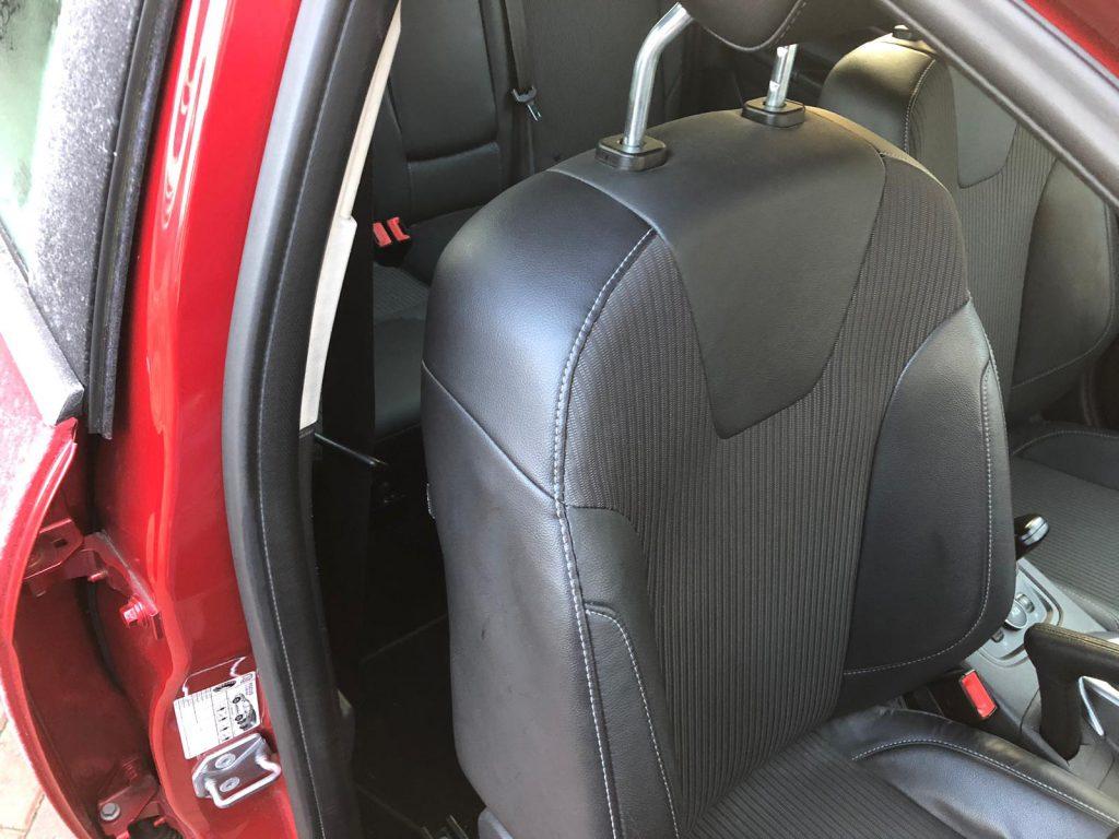 Car Seat Burst Seam Repair