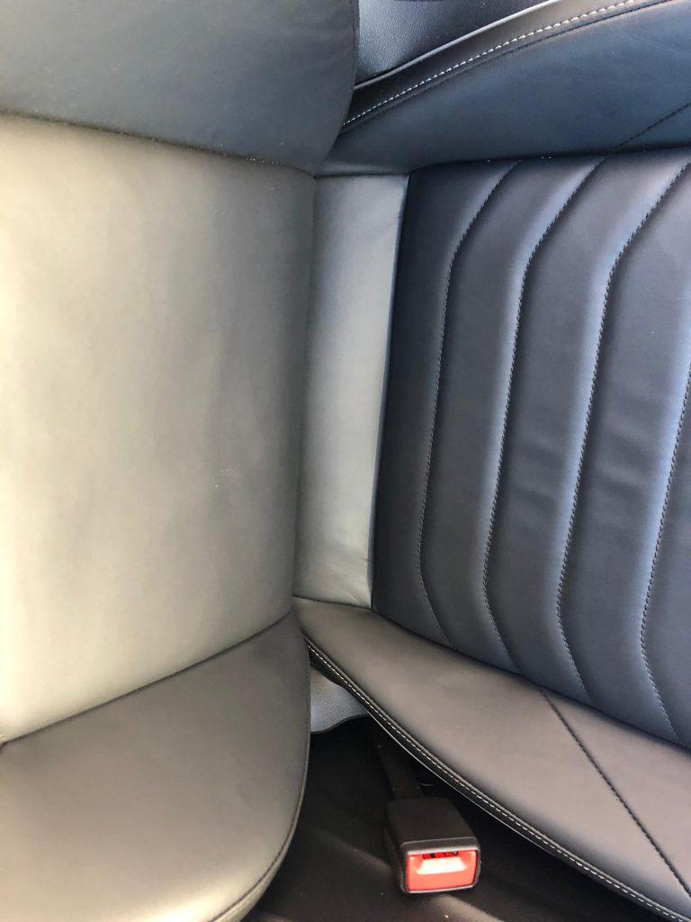 Volkswagen Car Seat Leather Repairs