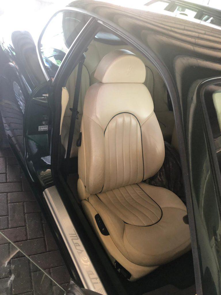 Maserati Drivers Car Seat