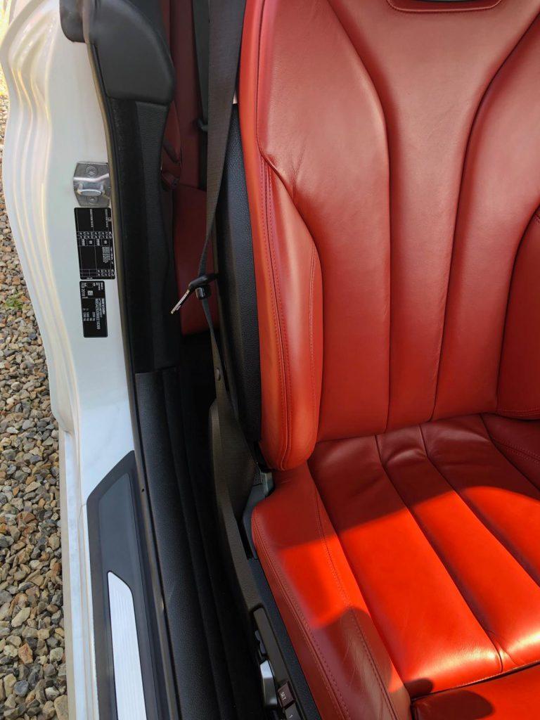 Red Bolster Car Seat Damage Repairs