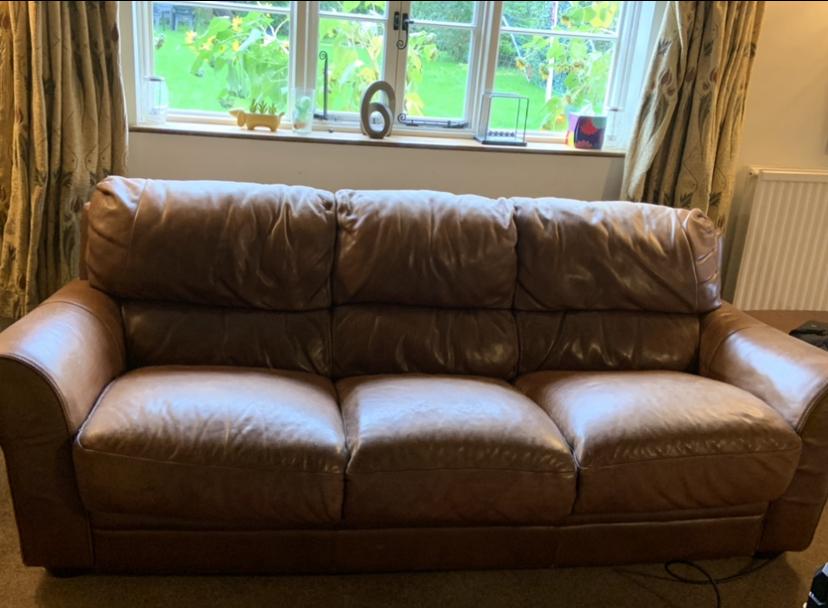 Leather Aniline Sofa Maidstone