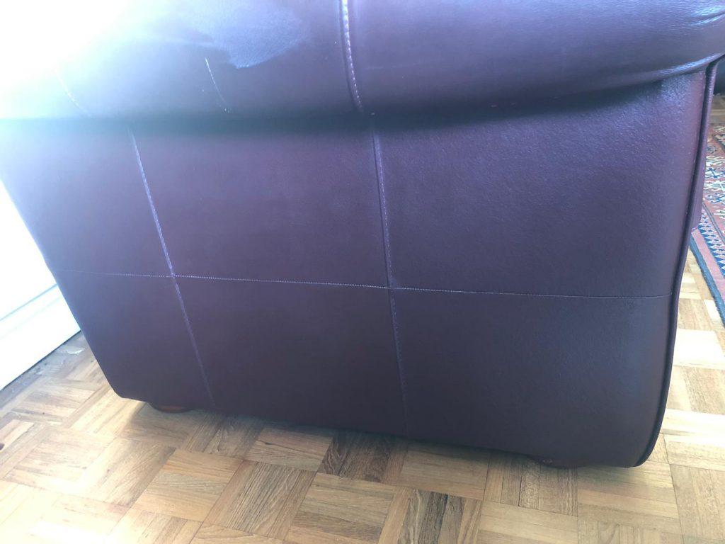 Leather Sofa Cat Scratch Repairs
