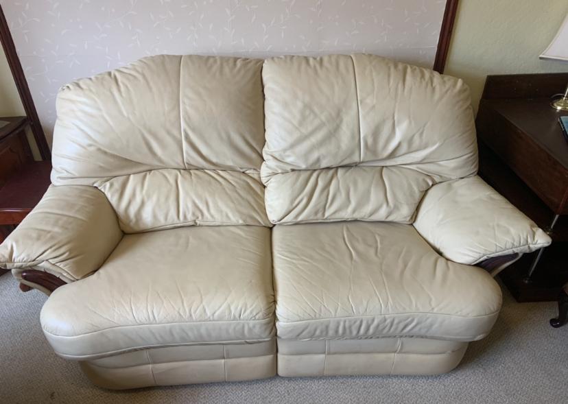 Cream Sofa Colour Restoration