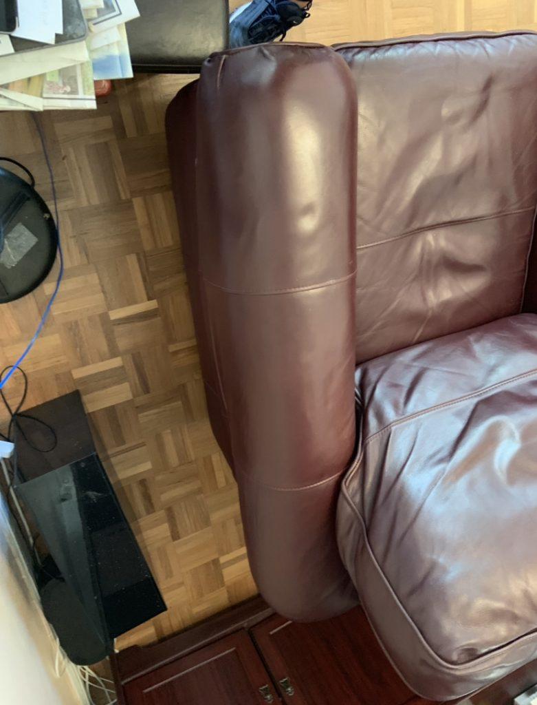 Purple Sofa Restoration