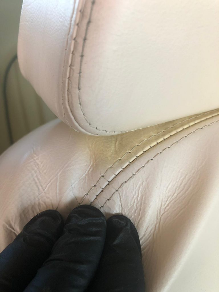 Car Seat Colour Difference