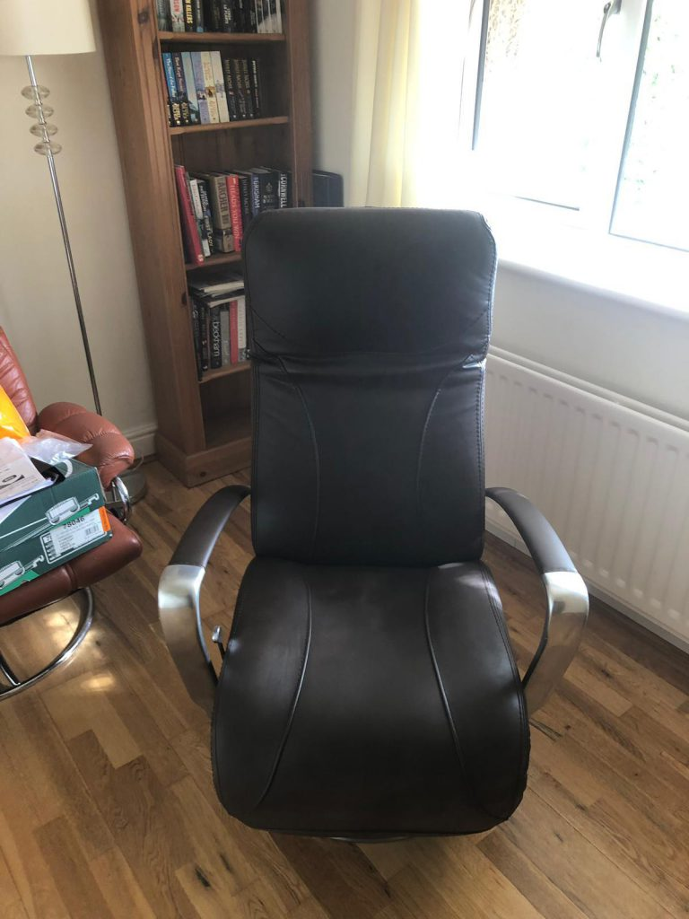 Black Swivel Chair Colour Change