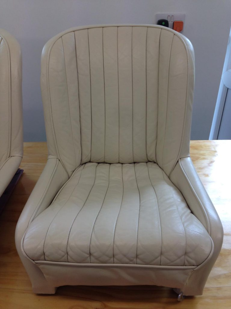 White Colour Changed Chair