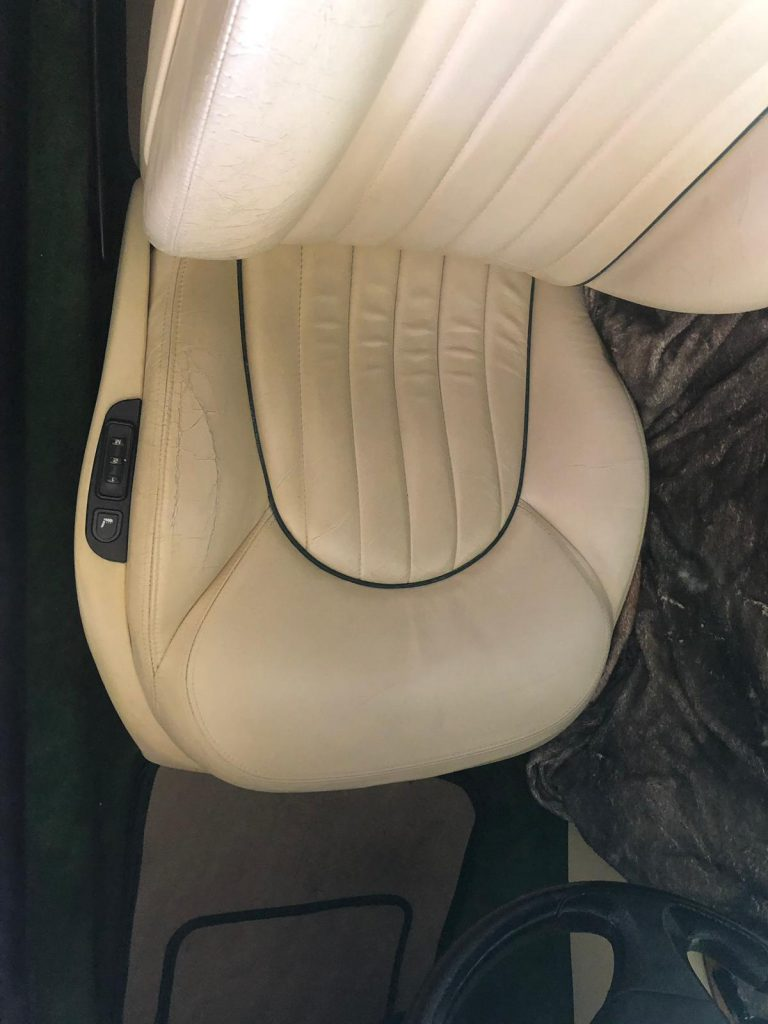Maserati Car Seat Before Pictures