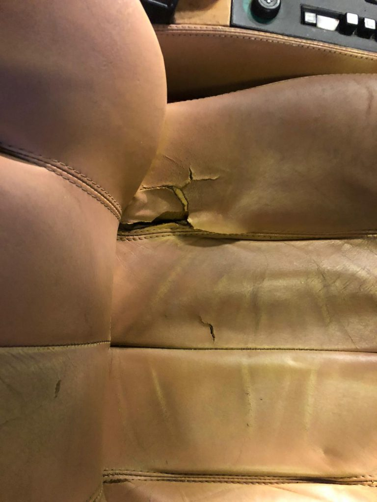 Ferrari Leather Car Seats