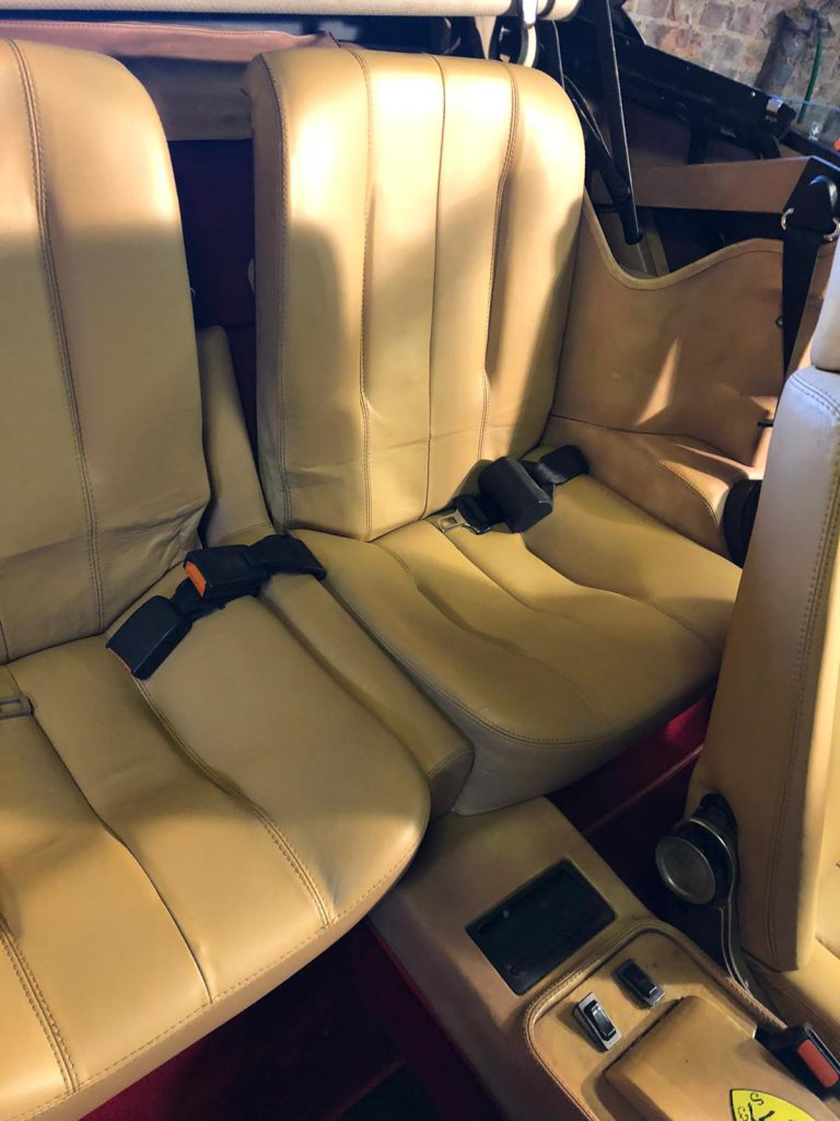 Leather Car Seat Restoration With Lint Free Cloths