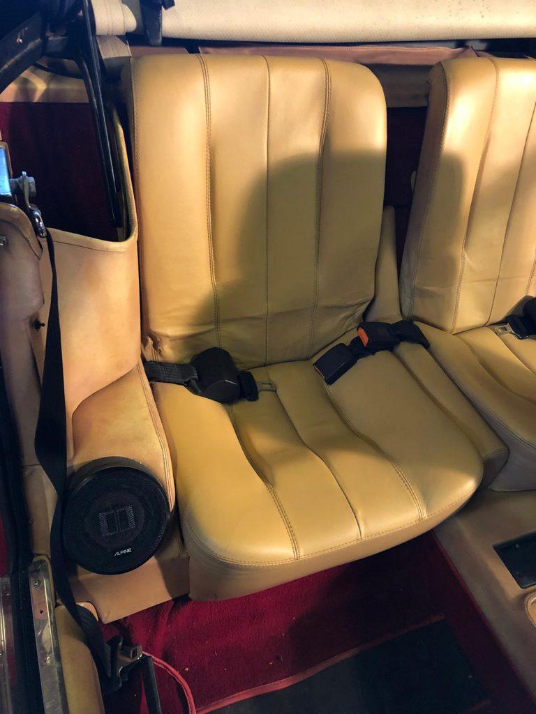 Ferrari Car Seat Restoration With Lint Free Cloths