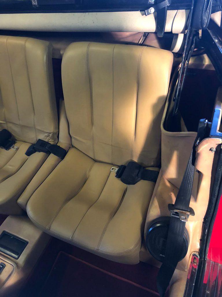 Leather Car Restoration