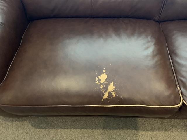 Brown Sofa Colour Loss