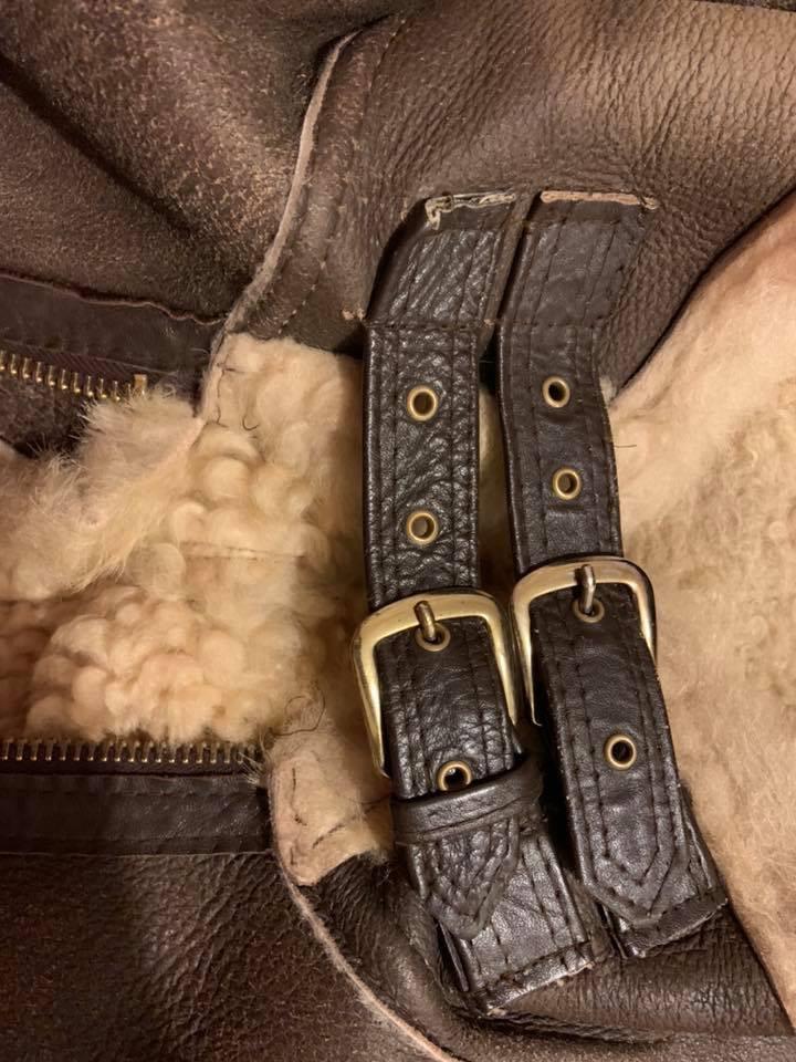 Sheep Skin Leather Jacket Tear Repairs