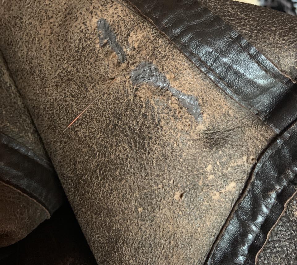 Tear Leather Filler
