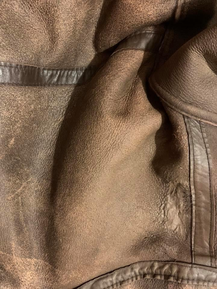 Sheep Skin Jacket Leather Repairs