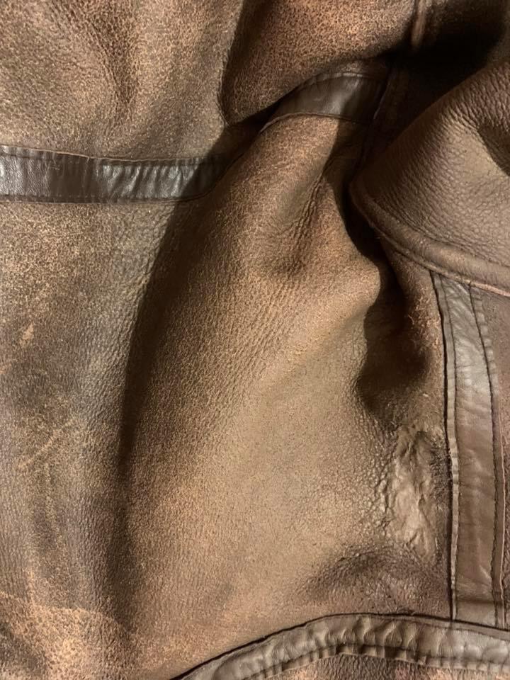 Sheep Skin Jacket Leather Repairs