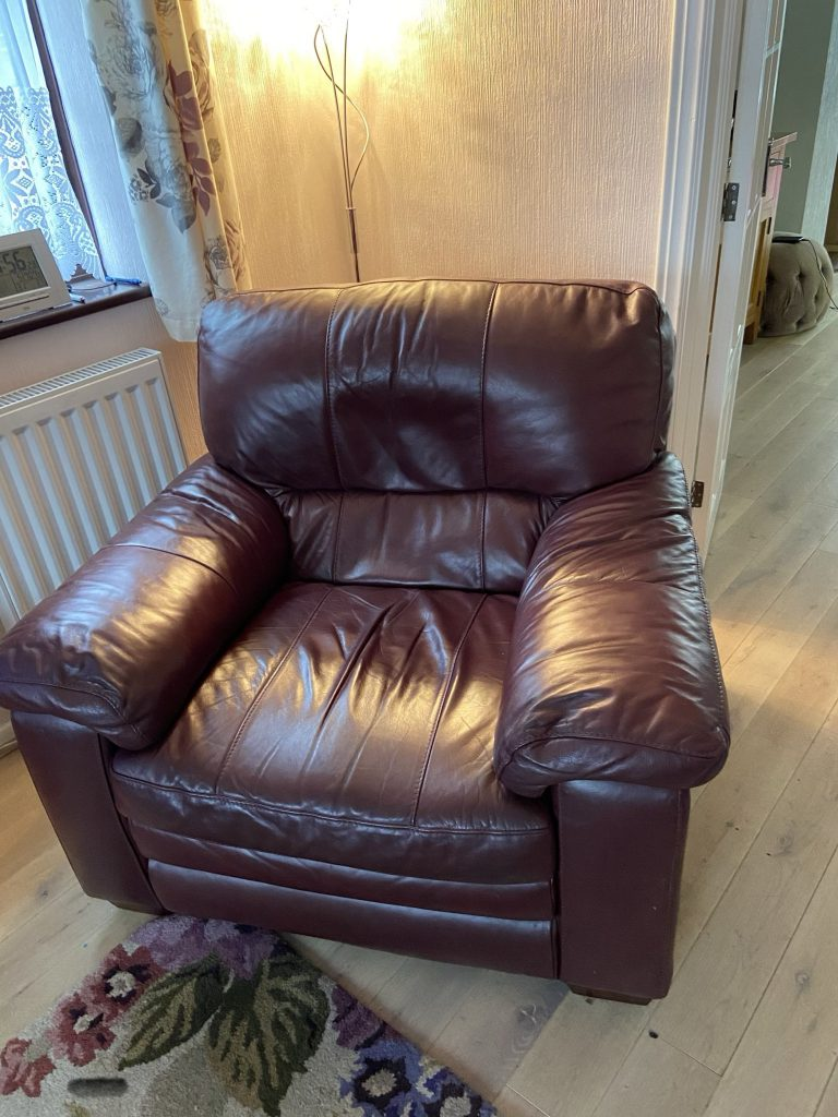 Arm Chair eat Re-padding