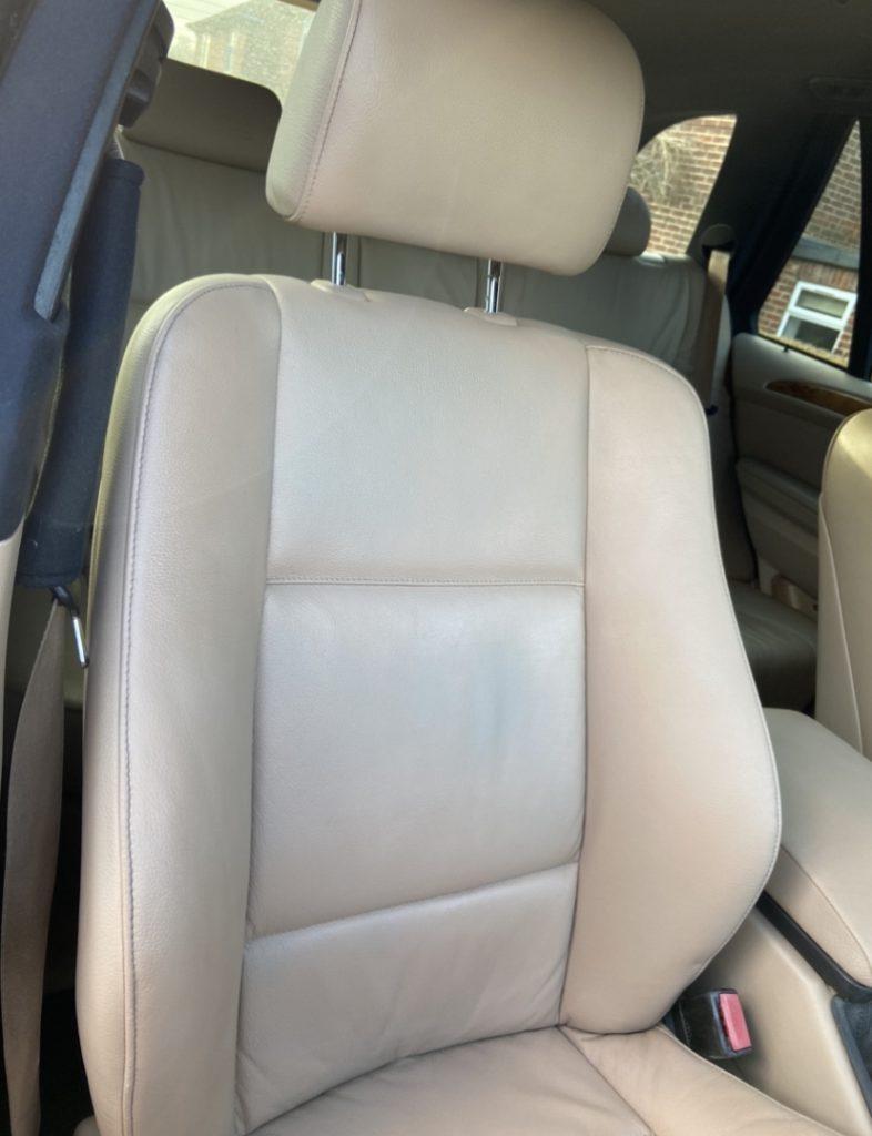 4x4 BMW Car Seat Leather Restoration