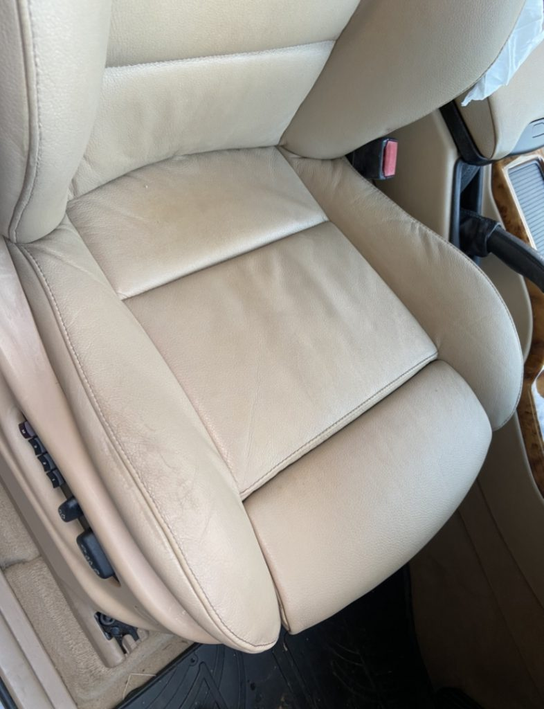 Damage To The 4x4 BMW Front Seats