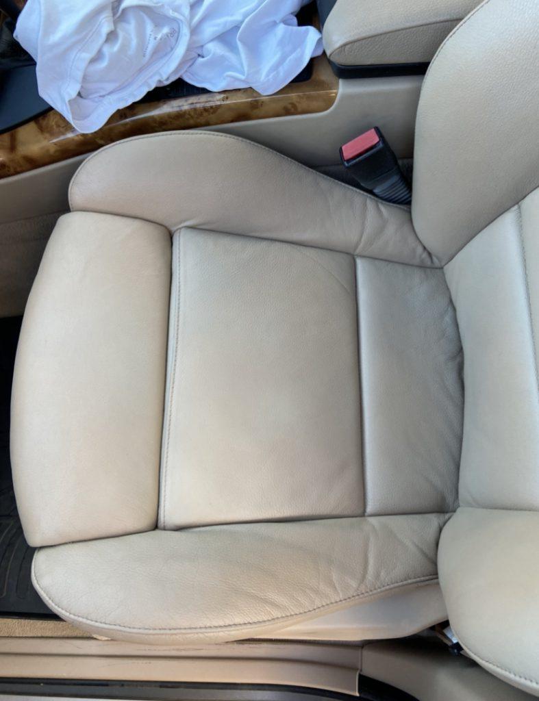 BMW Car Seat Restoration