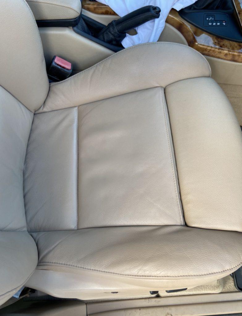 Colour Loss Car Seat Restoration