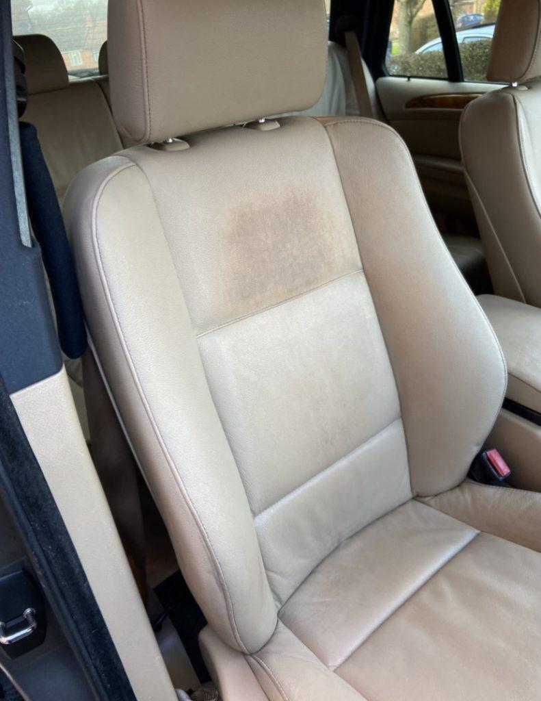 Front Seat 4x4 Car Seats Damage