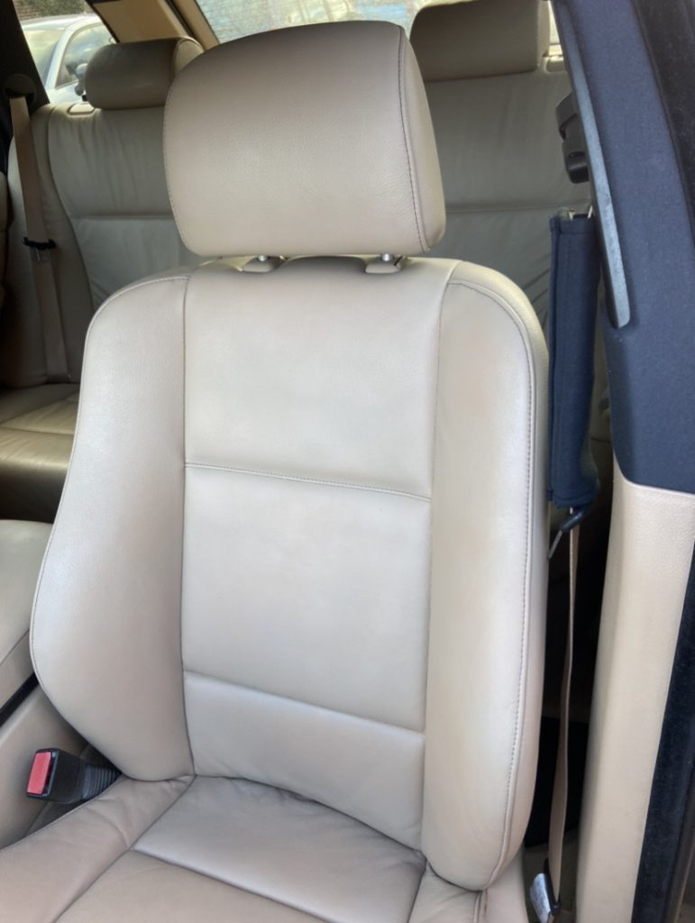 4x4 BMW Car Seat Stain Removal