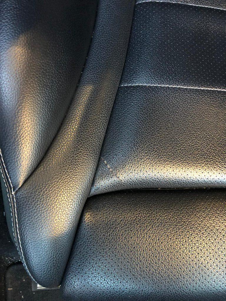 Leather Car Seat Scratch