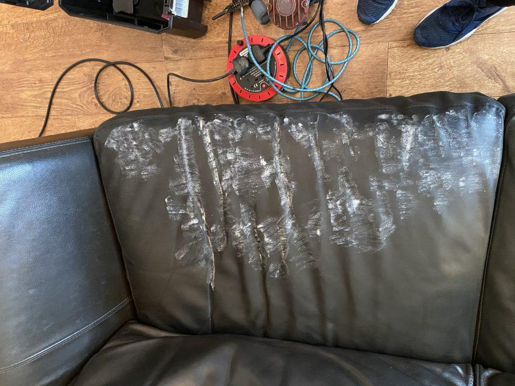 Leather Filling Cracks