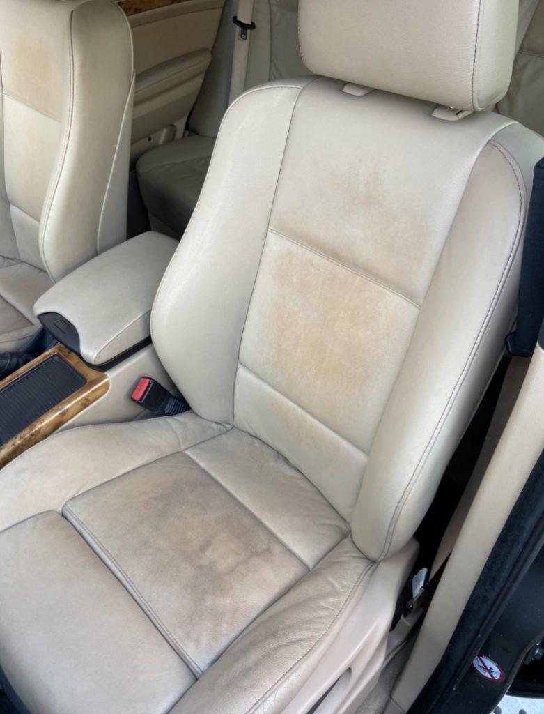 4x4 BMW Car Seat Colour Loss