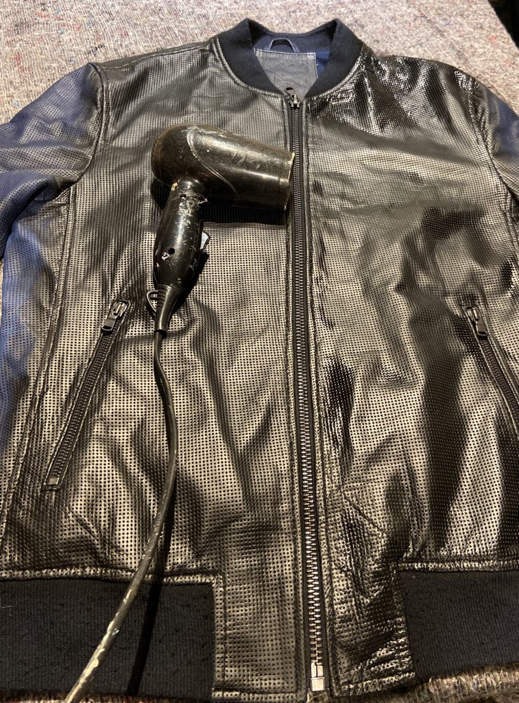 Black Leather Jacket Transformation