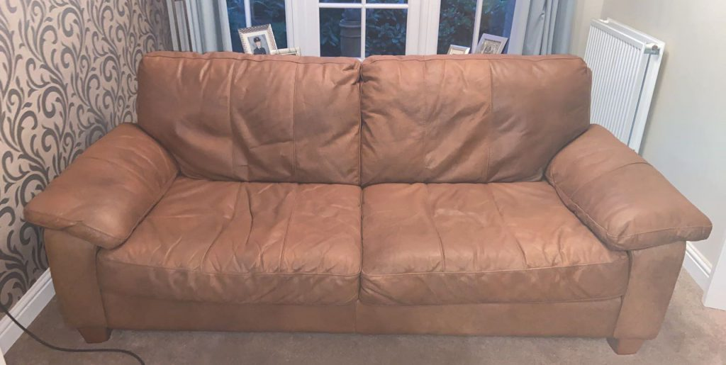 ME2 Aniline Sofa Restoration
