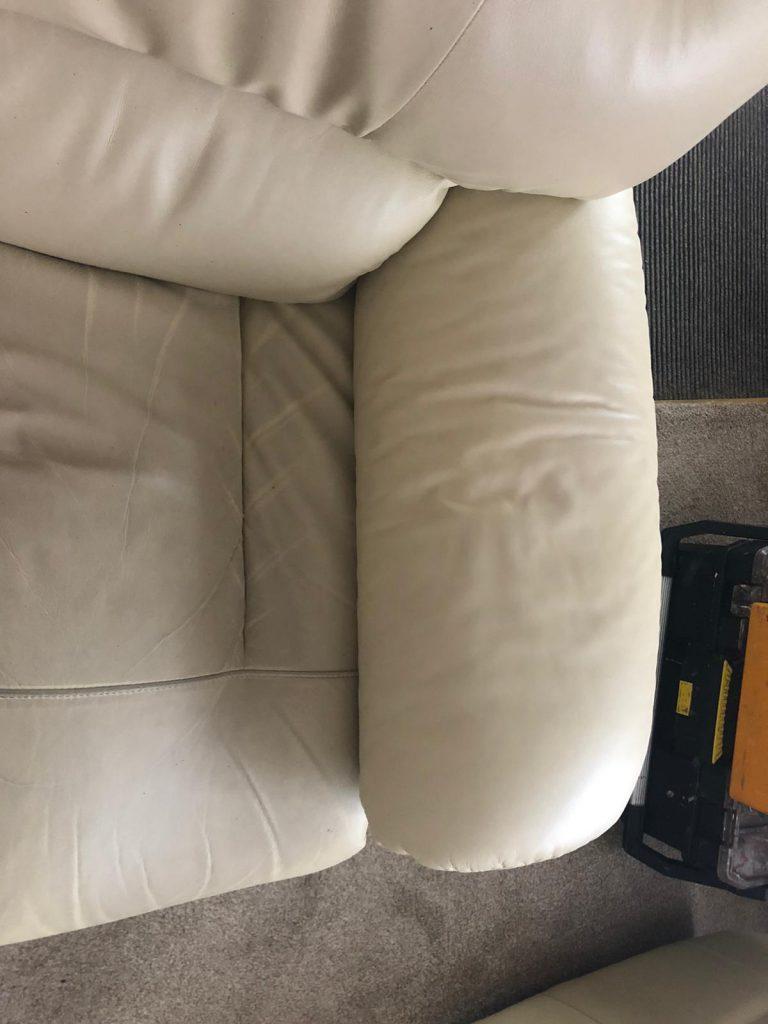 ME6 Arm Chair Peeling Repairs